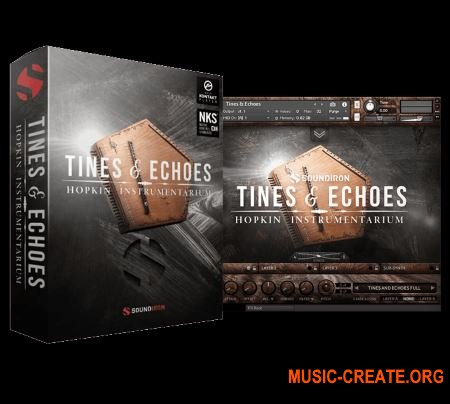 Soundiron Hopkin Instrumentarium Tines and Echoes v1.0.0 (KONTAKT) - библиотека ручного ударного инструмента