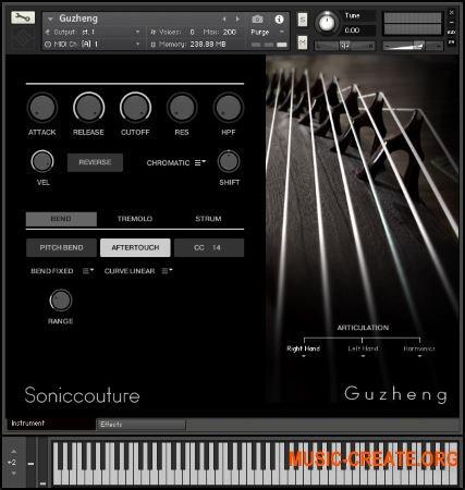 Gu Zheng от SonicCouture - Gu Zheng струнный китайский инструмент
