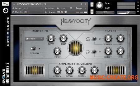 Evolve Mutations 2 от Native Instruments (NI) / Heavyocity - звуковой модудь