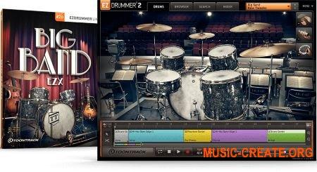 Toontrack Big Band EZX v1.0.0 - библиотека для EZdrummer