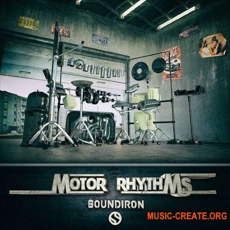 Soundiron Motor Rhythms v2.0.0 (KONTAKT) - библиотека ударных