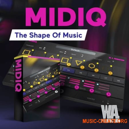 WA Production MIDIQ v1.0 x64 VST WiN - генератор MIDI-секвенций