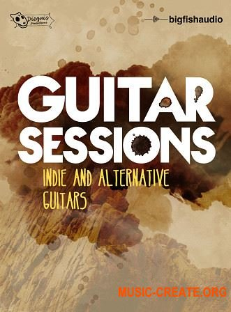 Big Fish Audio Guitar Sessions: Indie and Alternative Guitars (WAV AIFF KLI) - сэмплы гитары