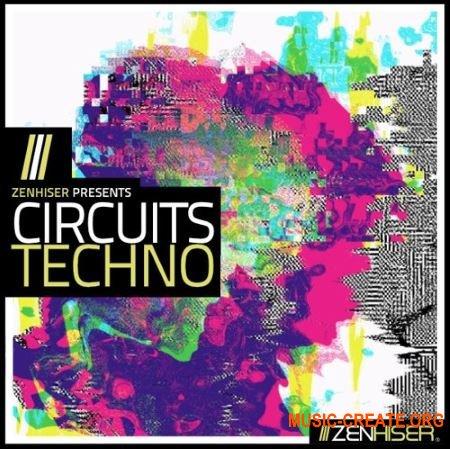 Zenhiser Circuits Techno (WAV MIDI) - сэмплы Techno