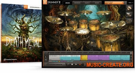 Toontrack Death Metal EZX v1.0.1 - библиотека для EZdrummer