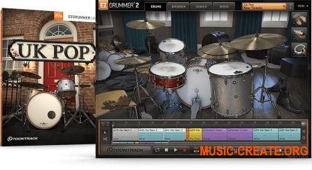 Toontrack UK Pop EZX v1.0.0 - библиотека для EZdrummer