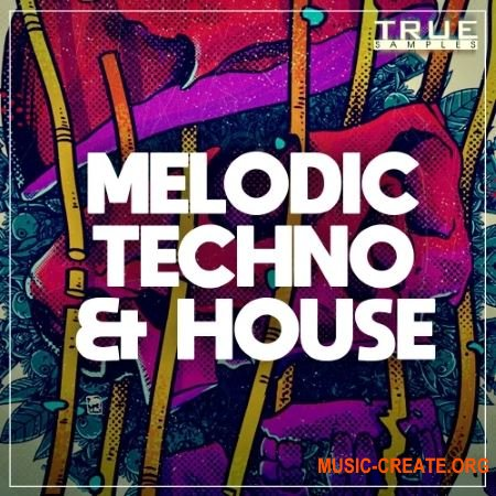 True Samples Melodic Techno & House (WAV MIDi Spire) - сэмпл Techno, Tech House