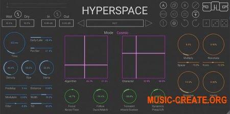 JMG Sound Hyperspace v1.5 (Team R2R) - плагин реверберации