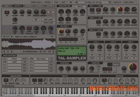 Togu Audio Line - Sampler v1.8.6 WiN/MAC (Team P2P) - сэмплер