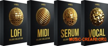 Cymatics Black Friday Deluxe Bundle (WAV MiDi XFER RECORDS SERUM)