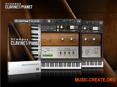 SCARBEE CLAVINET/PIANET от Native Instruments - электрическое пианино