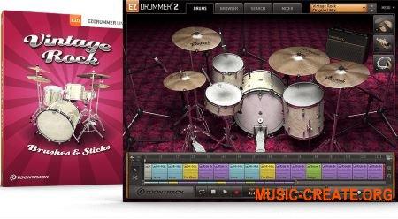 Toontrack Vintage Rock EZX v1.5.3 (EZX Sound Expansion) - библиотека для EZdrummer