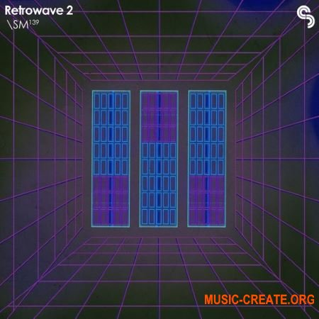 Sample Magic SM 139 Retrowave 2 (WAV MIDI) - сэмплы Retrowave