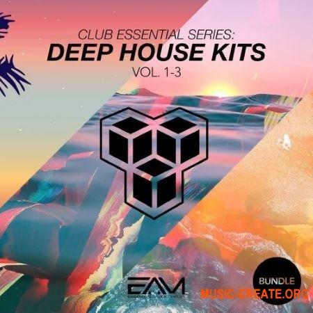 Essential Audio Media Club Essential Series - Deep House Kits Vol. 1-3 Bundle (WAV MIDi Presets) - сэмплы Deep House
