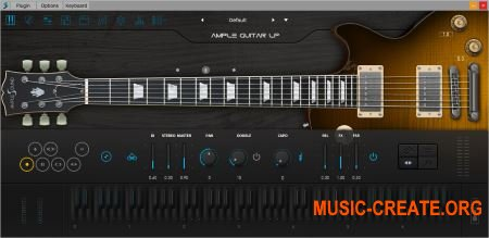 Ample Sound Ample Guitar LP III v3.0.0 WiN (Team P2P) - инструмент и сэмплы гитары Gibson Les Paul