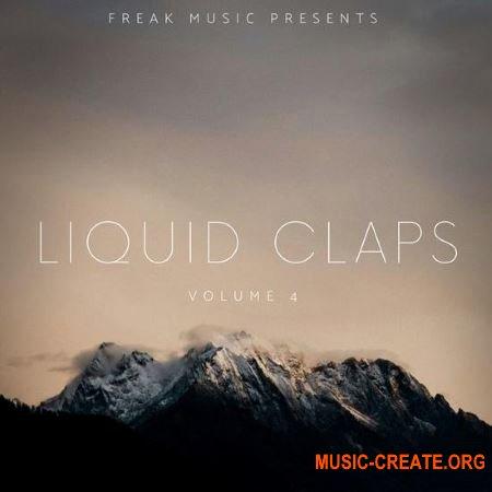 Freak Music Liquid Claps 4 (WAV) - сэмплы перкуссии