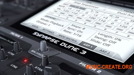 Synapse Audio DUNE v3.2.0 Rev.4 CE (Team V.R) - синтезатор