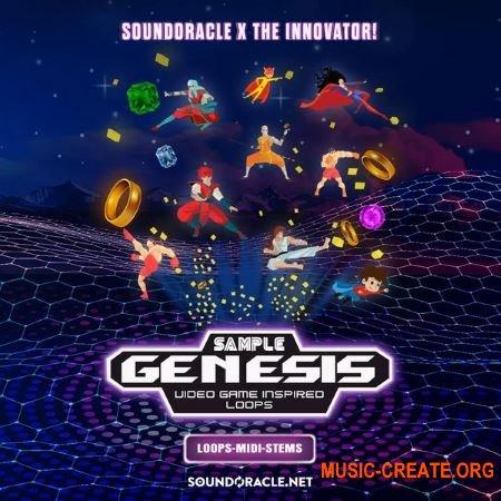Sound Oracle Sound Kits Sample Genesis (Deluxe Edition) (WAV MiDi) - звуки видеоигр