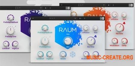 Native Instruments Raum v1.0.0 (Team R2R) - плагин реверберации