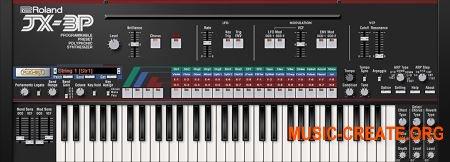 Roland VS JX-3P v1.0.3 (Team R2R) - виртуальный синтезатор