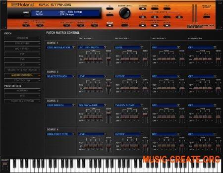 Roland VS SRX STRINGS v1.0.1 (Team R2R) - синтезатор струнных