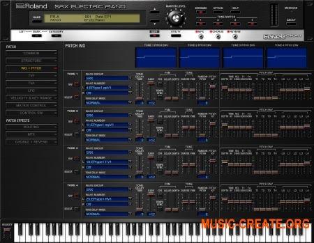 Roland VS SRX ELECTRIC PIANO v1.0.2 (Team R2R) - электрический пианино
