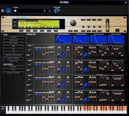 Roland VS XV-5080 v1.0.2 (Team R2R) - синтезатор XV-5080