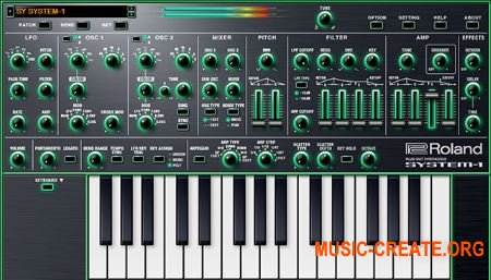 Roland SYSTEM-1 Software Synthesizer v1.1.3 (Team R2R) - виртуальный синтезатор
