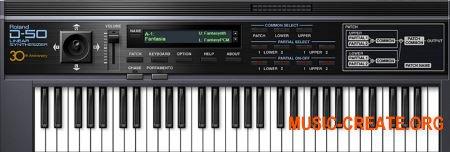 Roland D-50 v1.0.9 (Team R2R) - синтезатор