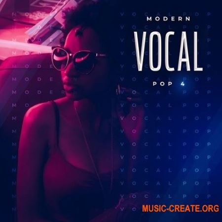 DiGiNOiZ Modern Vocal Pop 4 (WAV MiDi) - вокальные сэмплы