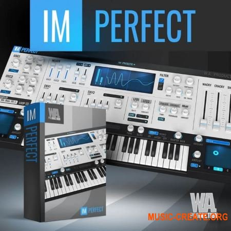 WA Production Imperfect v1.0.0 x64 x86 VST AU AAX WiN MAC FULL RETAiL - виртуальный синтезатор