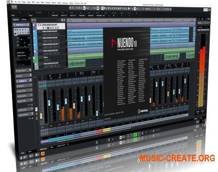 Steinberg Nuendo Pro v10.2.10 x64 WiN TEAM DC RC3 - виртуальная студия