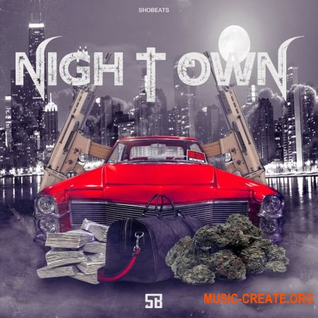 Shobeats Night Town (WAV MiDi + HYPERSONiC WAVESTATiON SYLENTH1 ELECTRA X) - сэмплы Trap