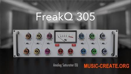 Audio Assault FreakQ 305 v2.0.1 MAC/WiN/LiNUX - эквалайзер