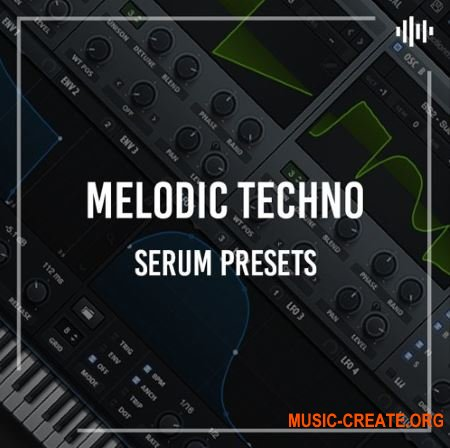 Production Music Live Serum Presets: Melodic Techno (FXP)
