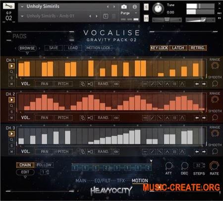 Heavyocity Vocalise v1.1.0 (KONTAKT) - вокальная библиотека