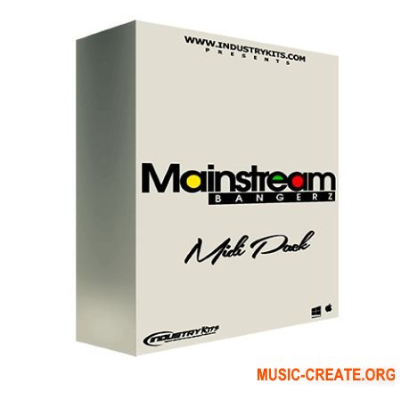 IndustryKits Industry Kits Mainstream Bangers MIDI Pack (MiDi)