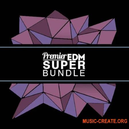 Premier Sound Bank Premier EDM Super Bundle (WAV Massive Patches) - сэмплы EDM