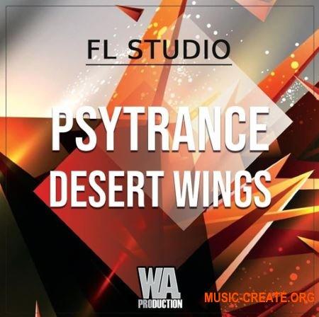 W.A.Production Psytrance Desert Wings (WAV MIDI FXP FLP) - сэмплы Psytrance
