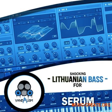 Vandalism Shocking Lithuanian Bass For Serum (Serum presets)