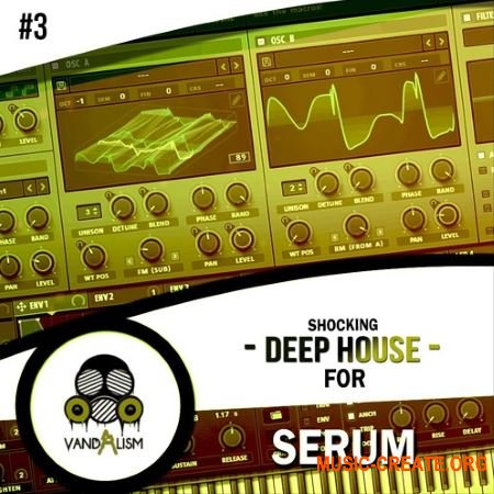Vandalism - Shocking Deep House For Serum 3 (Serum presets)