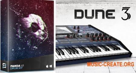 StudioPlug Panda (Drum kit And Dune 3 Bank) (WAV DUNE 3 Presets)