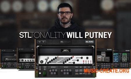 STL Tonality Will Putney v1.1.0 (Team R2R) - гитарные усилители, кабинеты, педали