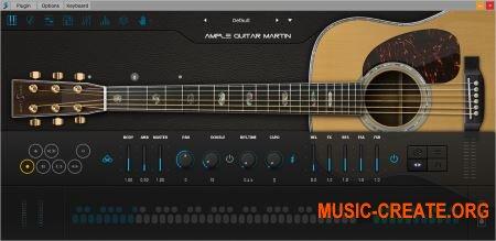 Ample Sound - AGM v1.1.2 (Team R2R) - инструмент и сэмплы гитары Martin D-41