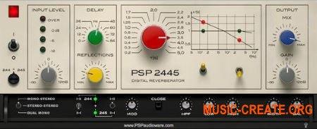 PSPaudioware - PSP 2445 v1.0.0 WiN/OSX (Team R2R) - плагин реверберации