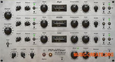 PSPaudioware PSP oldTimerMB v1.0.0 (Team R2R) - многополосный компрессор