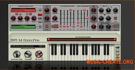 M-Tron Pro от GForce - виртуальный синтезатор Mellotron