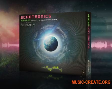 Futurephonic Echotronics Serum Soundset (Serum presets)