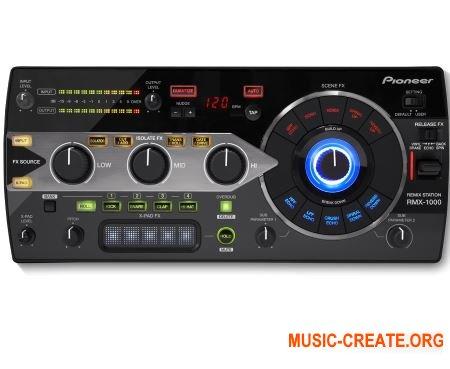 Pioneer RMX-1000 Plug-in v2.1.2 (Team RET) - виртуальная ремикс станция