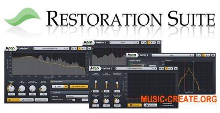 Acon Digital - Restoration Suite v1.0.1 WiN/OSX (Team R2R) - плагины реставрации и шумоподавления